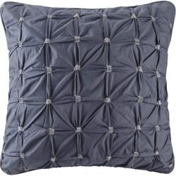 INK+IVY 100% Cotton Euro Sham European Square Decorative Pillow Cover, Hidden Zipper Closure (Cushion NOT Included), 26