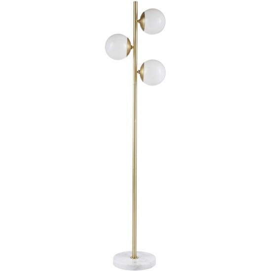 INK+IVY MPS154-0087 Floor Modern Luxe Accent Furniture Décor Lighting for Living Room Holloway Table Lamp, 15.25