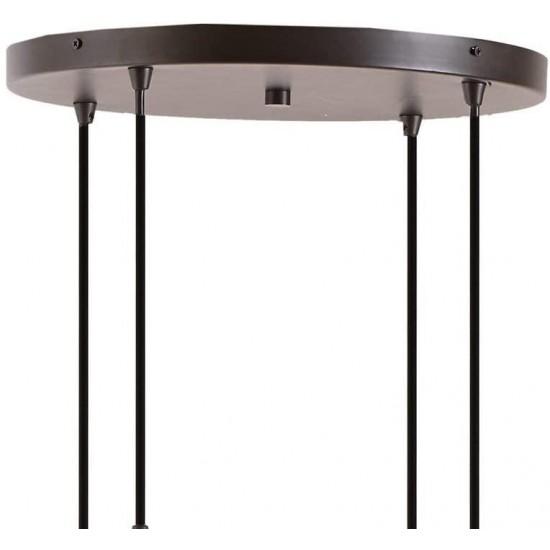Hanging globe light fixture bronze pendant glass globe chandelier
