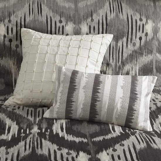 INK+IVY Oblong Pillow, 12