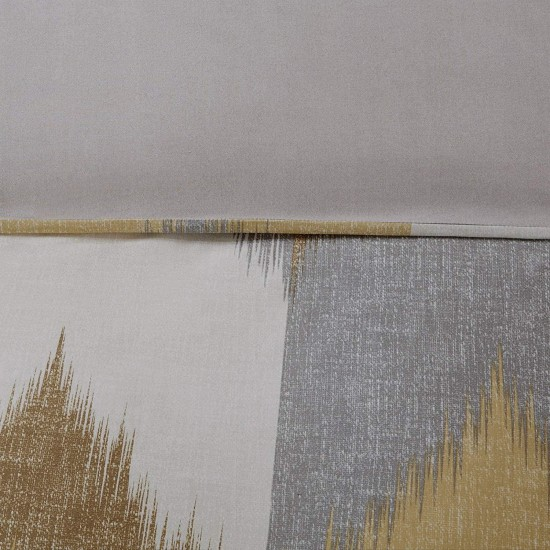 Ink+Ivy Alpine Duvet Cover Set, Yellow, King/Cal King