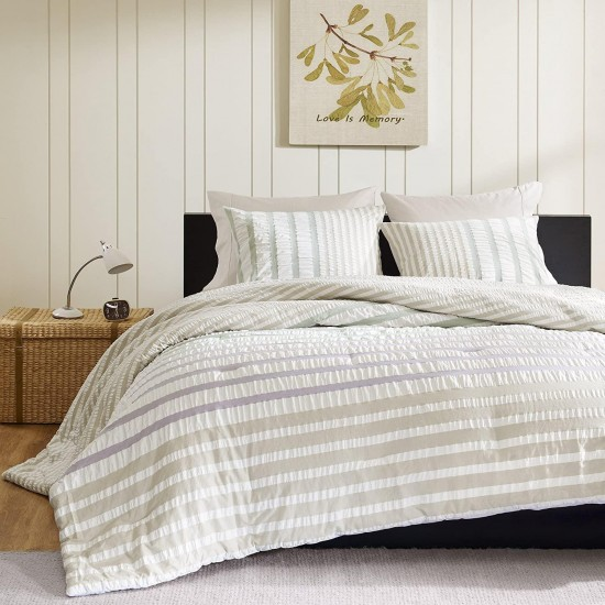 INK+IVY Sutton 2-Piece Comforter Set, Twin, Multicolored