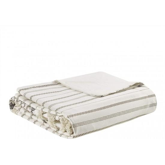 INK+IVY 100% Cotton Duvet Mid Century Modern Design All Season Comforter Cover Bedding Set, Matching Shams, King/Cal King (104