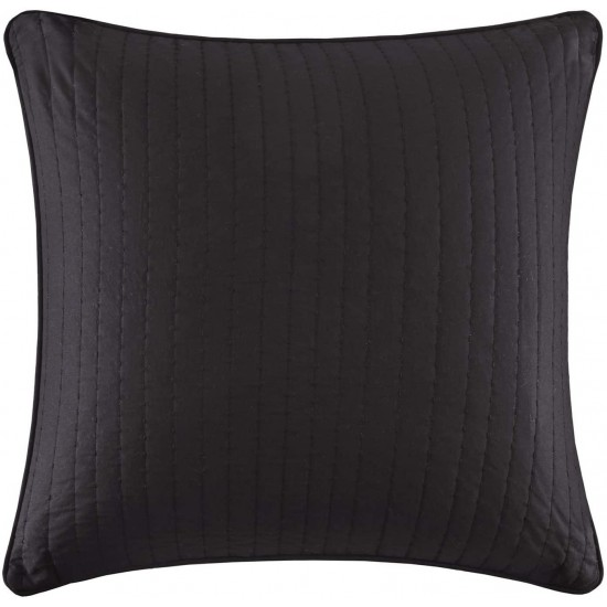 INK+IVY Camila European Square Decorative Pillow Cover, Hidden Zipper Closure (Cushion NOT Included), 26