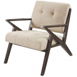 Ink+Ivy Rocket - Mid Century Modern Accent Chair - Comfortable All Foam Lounge Armchair Sturdy Solid Wood Frame Z Rocket Retro Style