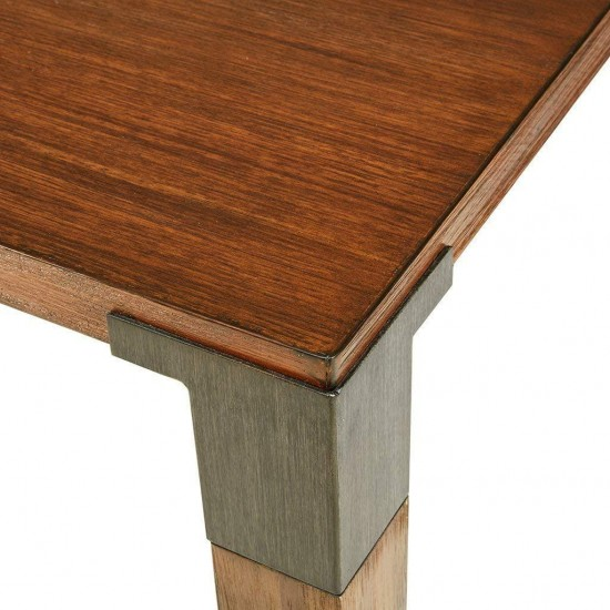 INK+IVY Frazier Dining Table Brown See Below