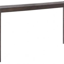 Ink+Ivy Monterey Accent Tables - Wood Side Table - Brown, Modern Style End Tables - 1 Piece Wire Brushed Finish Small Tables For Living Room