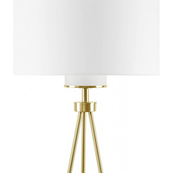 INK+IVY FPF21-0367 Pacific Tripod Floor Lamp 20x20x66.25 Gold, See